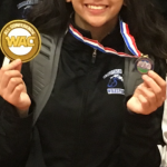 MHHS Girls Wrestler Michelle Poland wins All WAC Honors at the League Tournament