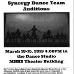 MHHS 2019-20 Synergy Dance Team Auditions