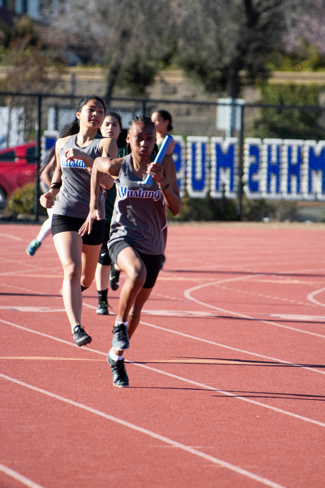 10 Mustangs Qualify for the Track & Field County Clash!
