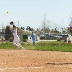 Girls Varsity Softball comes up short against Davis Spartans