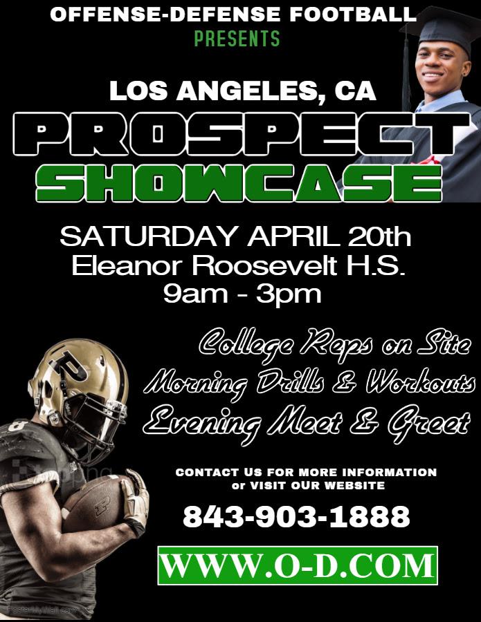 Football Showcase in Los Angeles