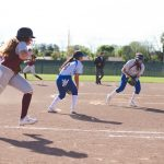 Girls Varsity Softball falls to Los Banos