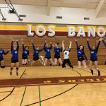 Girls Varsity Volleyball continues their winning streak as they take Los Banos down with a 3-1 victory