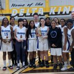Girls Frosh Basketball team takes 2nd place in Stagg Delta Queens Freshman Classic Tournament