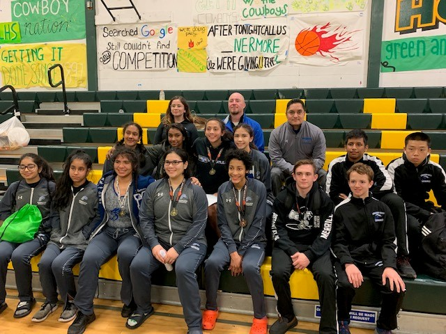Mustangs Girls and JV Wrestlers Bring Home Medals from Livermore Wrestling Tournament