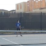 Boys Varsity Tennis opened league play with 9-0 sweep of Johansen