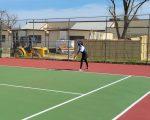 Girls Varsity Tennis beats Patterson 8-1