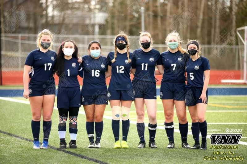 March 13, 2021 Varsity Girls Soccer Burlington at Squalicum