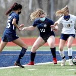 March 13, 2021 Varsity Girls Soccer Burlington at Squalicum