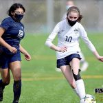 March 13, 2021 JV Girls Soccer Burlington at Squalicum