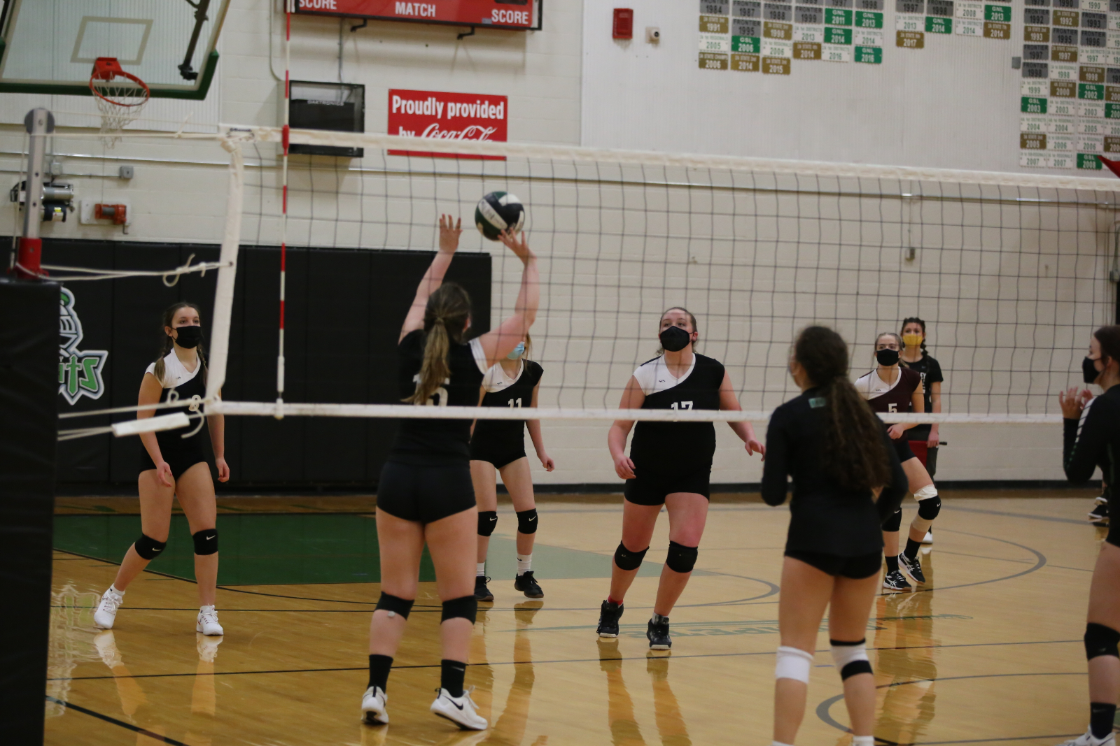 JV and FR Volleyball vs. NC 2/25/2021