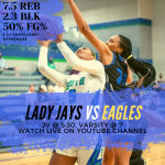 (9-3) Lady Jays vs (4-2) Eagles
