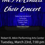 Pre-Contest Choir Concert