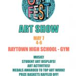 Raytown High Art Show Jay Fest- This Friday!
