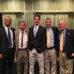Riley McNulty honored at The Ensign C. Markland Kelly Awards Dinner