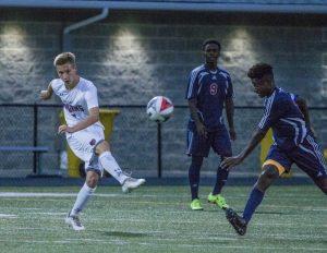 Varsity Boys Soccer vs Bowie HS 9/6/17