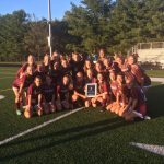 Girls Soccer wins County Championship