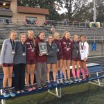 Broadneck High School Girls Varsity Cross Country finishes 1st place