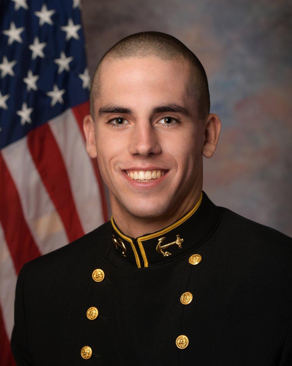 Bruins in the News: Navy website profiles Emmett Davis