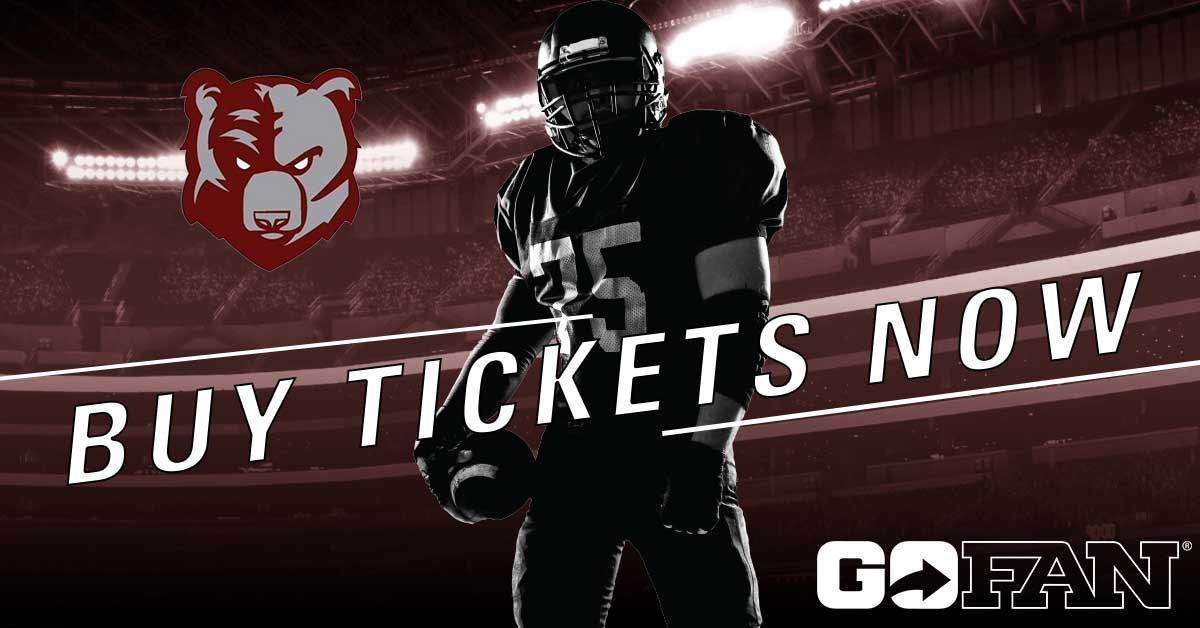 Bruin Football to Host the Cougars this Friday – Purchase Your Tickets Now!
