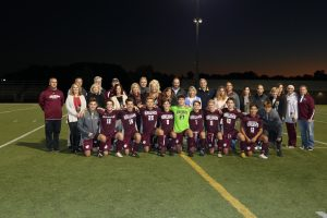 Senior Night 2018 Bruins Varsity Soccer