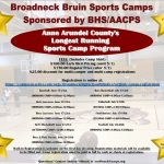 Bruin Summer Sports Camp Early Bird Registration Ends April 30th!