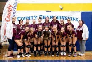 Varsity Volleyball County Championship!