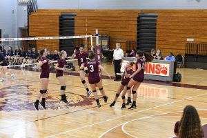 Varsity Volleyball: Regional Semifinal (vs South River)