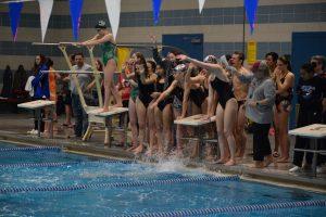 BHS Swim Team, dual meet 12.6.19