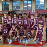 Boys JV basketball win Bogle tournament