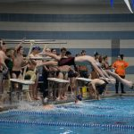 Swim meet vs SP, ME, NE