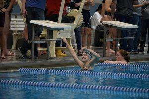 Swim meet vs SP, ME, NE