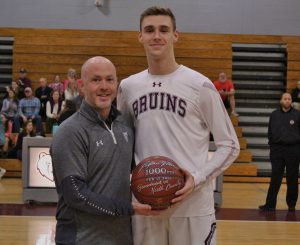 Logan Vican 1,000 Career Points Ceremony