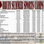 2020 Bruin Sports Camps – Register Now