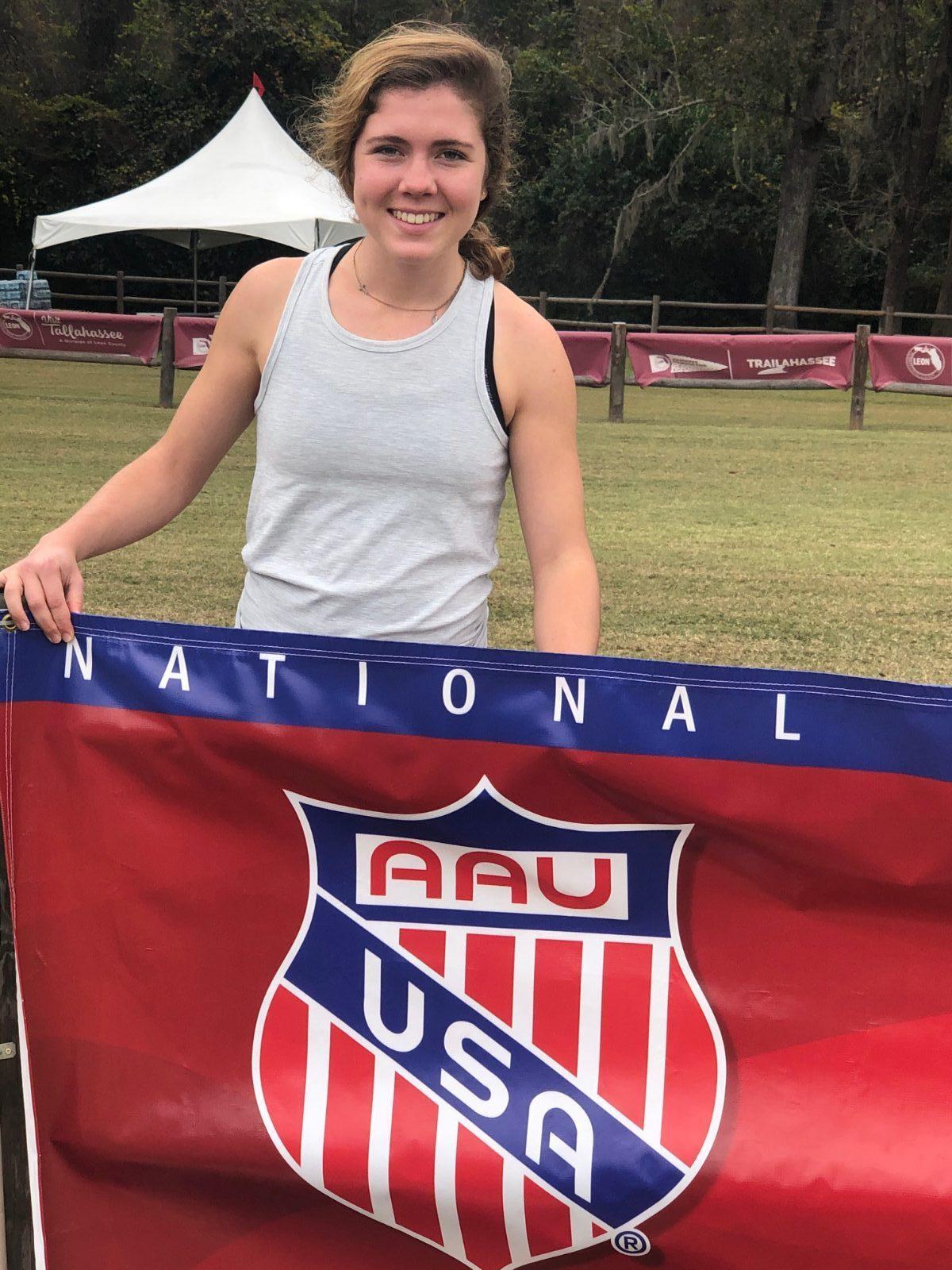 Bruin Runner Grace Denius Competes Nationally