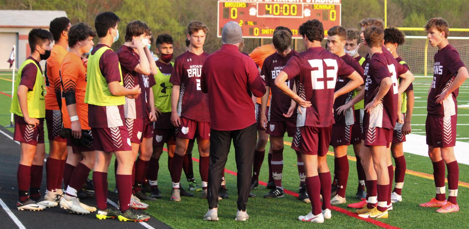 Boys Varsity Soccer vs. South River 4/8/21