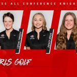 Girls Golf SWSC All Conference