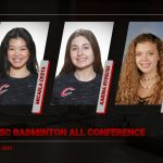 Congratulations to our Badminton SWSC All Conference Winners!