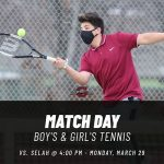 Boy's & Girls Tennis – Match Day!