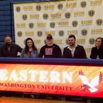 Chad Vidican signs Letter of Intent with Eastern Washington
