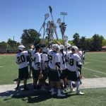 Damien High School Boys Varsity Lacrosse beat Esperanza High School 7-6