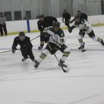 Damien High School Boys Varsity Hockey beat Edison 4-0