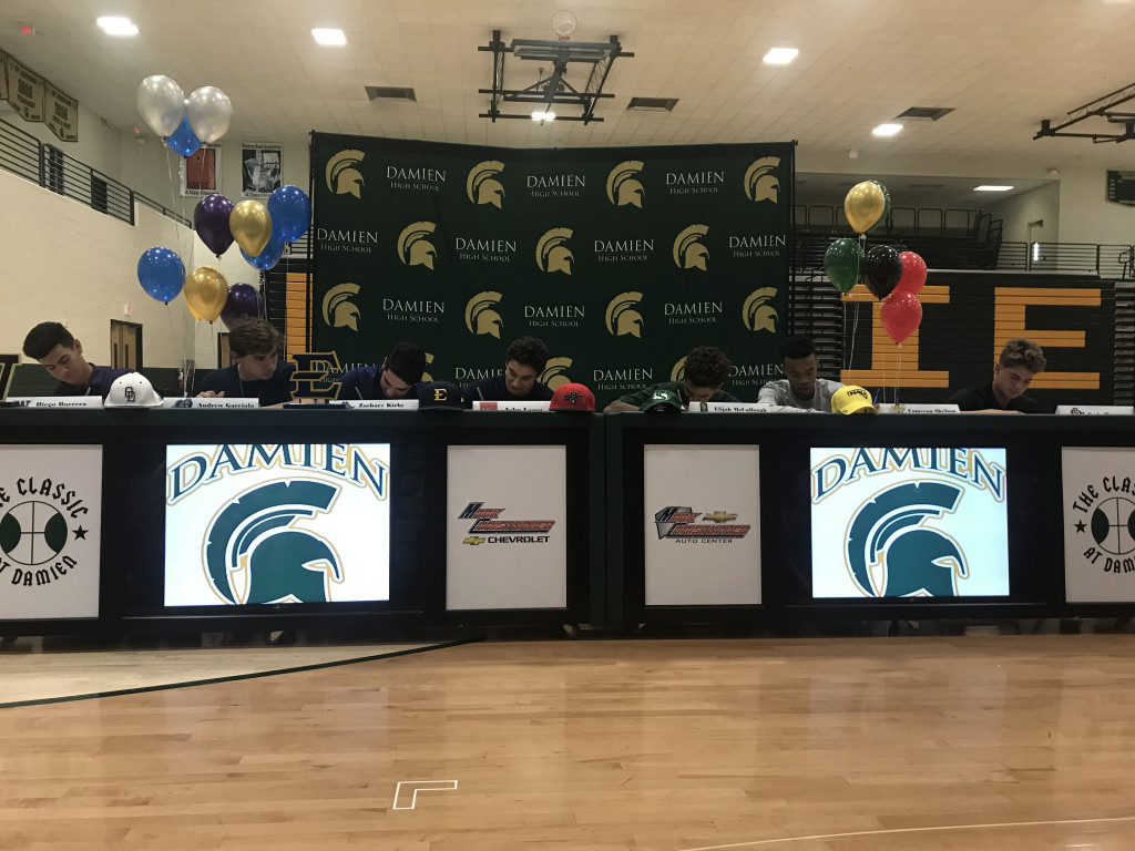 National Signing Day at Damien