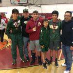 Boys Varsity Wrestling finishes 4th place at Fontana Tourney