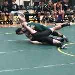 Boys Varsity Wrestling beats Rancho Cucamonga 42 – 33