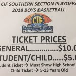 Basketball Playoff Ticket Information