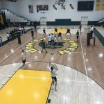 Varsity Volleyball beats Upland 3 – 0