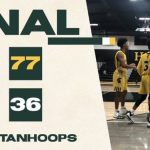 Basketball beats Beckman 77 – 36