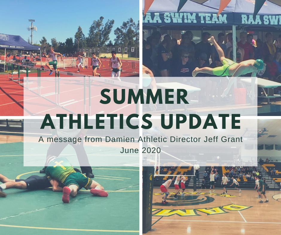 2020 Summer Athletics Update