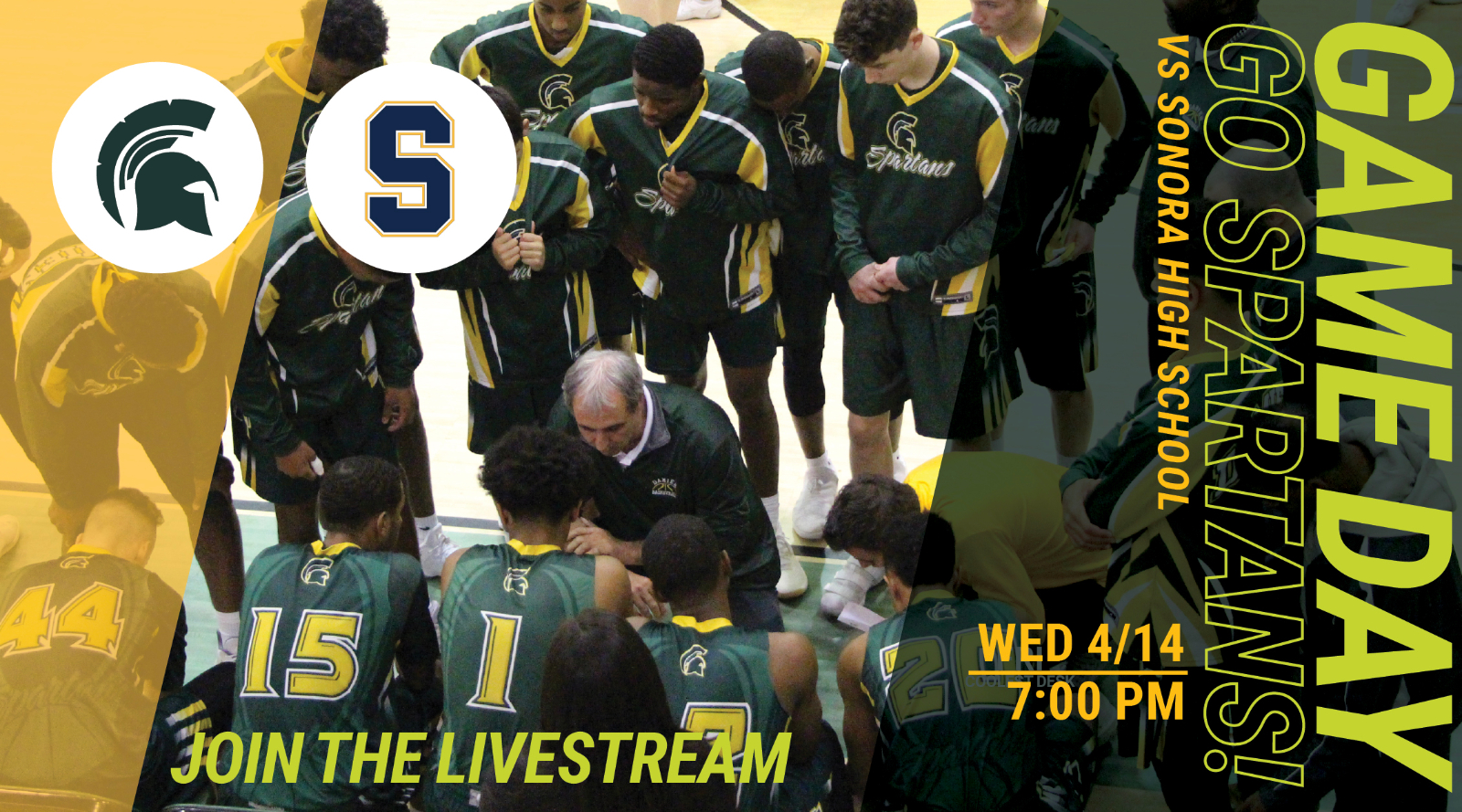 Catch the Basketball Game Live Tonight 4/14 7 PM